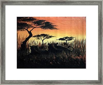 Life In The Jungle  Framed Print by Gibu John Joshua