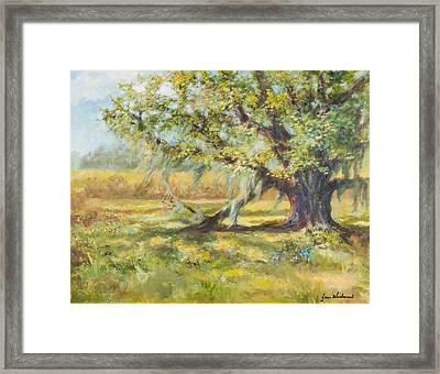 Life In The Low Country Framed Print by Jane Woodward