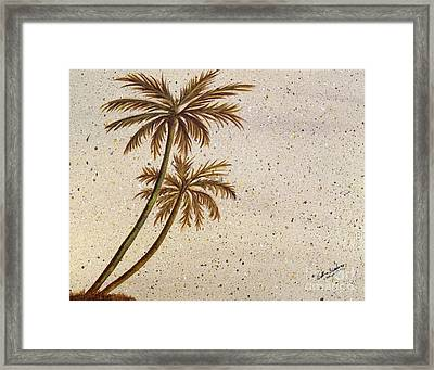 Life In The Midst Framed Print by Debbie Broadway