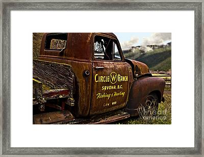 Life In The Past Lane Framed Print