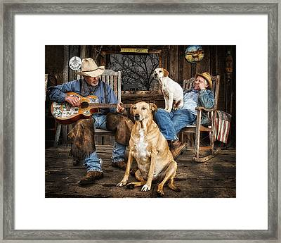 Life In The Slow Lane Framed Print by Ron  McGinnis