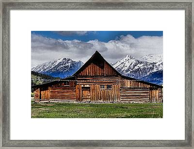 Life In The Tetons Framed Print by Dan Sproul
