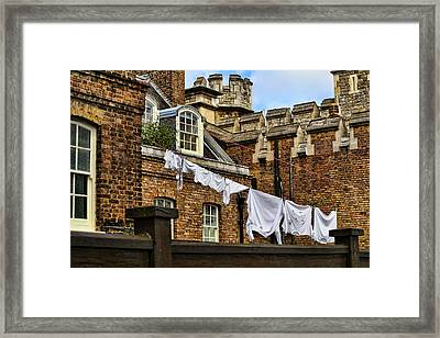 Life In The Tower Of London Framed Print by Joanna Madloch