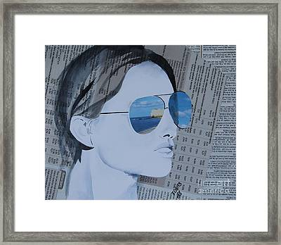 life IS ..? Framed Print by Natalie Sokolova