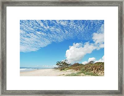 Framed Print featuring the photograph Life Is A Beach by Ankya Klay