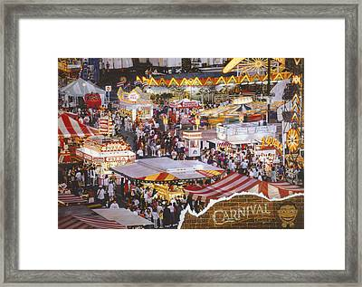 Life Is A Carnival Framed Print by Bill Jonas