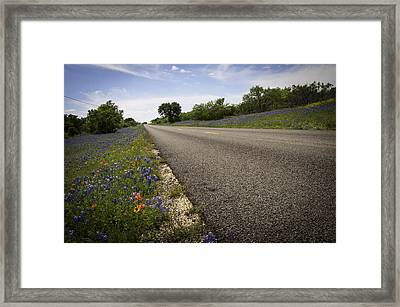 Life Is A Highway  Framed Print by Lynn Bauer