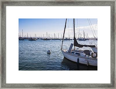 Life Is An Illusion Framed Print by Sonny Marcyan