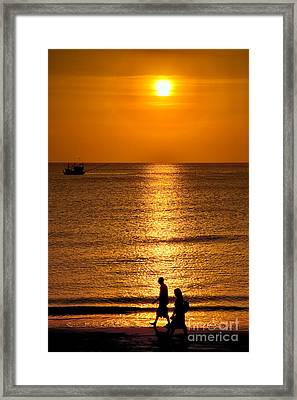 Life Is Beautiful Framed Print by Adrian Evans