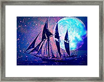 Life Is But A Dream I Framed Print by Larry Lamb
