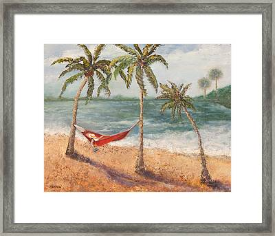 Life Is Good Framed Print by Annie St Martin