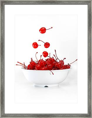 Life Is Just A Bowl Of Cherries 3 Framed Print