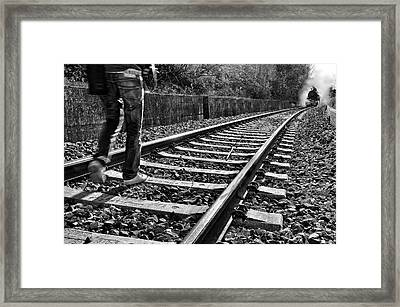 Life Is Short Framed Print by Andrea Auf Dem