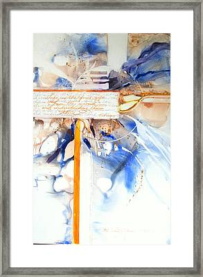 Life Is The First Gift  Framed Print by Patricia Mayhew Hamm