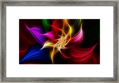 Framed Print featuring the digital art Life by Karen Showell