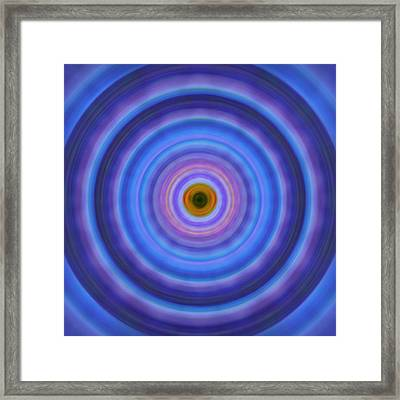 Life Light - Abstract Art By Sharon Cummings Framed Print by Sharon Cummings