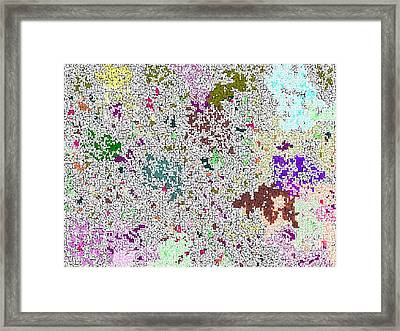 Life 'n Flux Framed Print