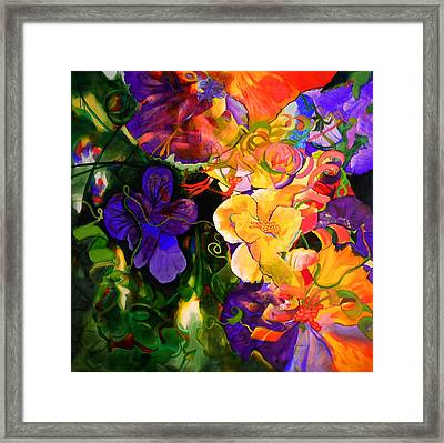 Life Of Flowers Framed Print