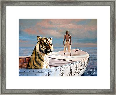 Life Of Pi Framed Print by Paul Meijering