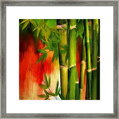 Life Of Simplicity Framed Print by Lourry Legarde