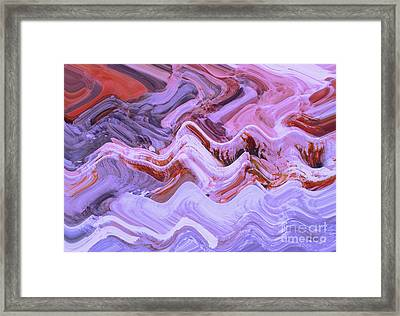 Life On Mars				 Framed Print by Ann Johndro-Collins