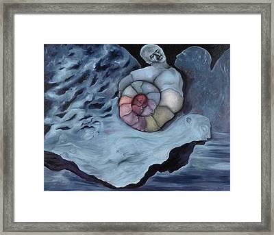 Life Spiral And The Live Atmosphere Framed Print by Jerod  Kytah