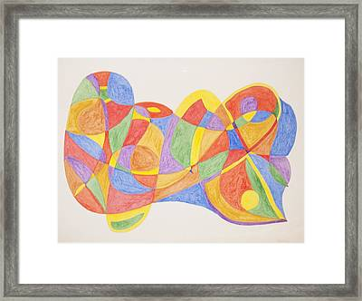 Framed Print featuring the painting Graffiti Life  by Stormm Bradshaw