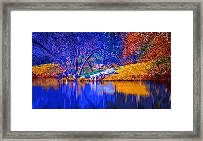 Life Swing 2 Framed Print