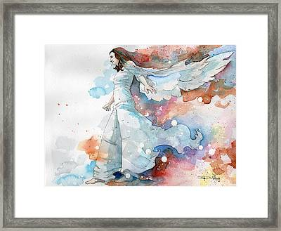 Life The Universe And Everything Framed Print