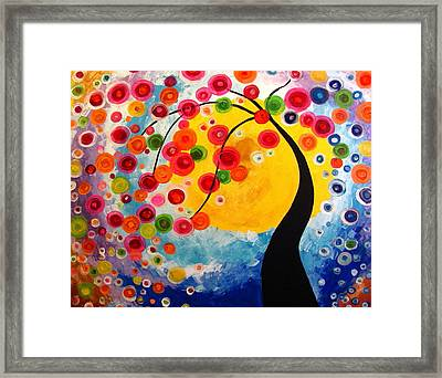 Life Tree Framed Print by Mariana Stauffer