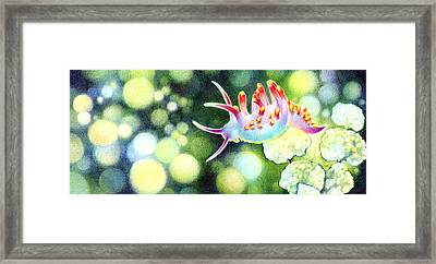 Life Under Water Framed Print by Natasha Denger
