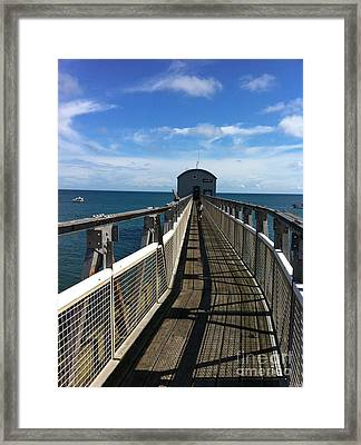 Lifeboat 'action Stations' Framed Print