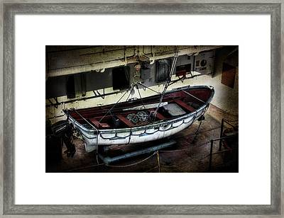 Lifeboat Framed Print by Evie Carrier