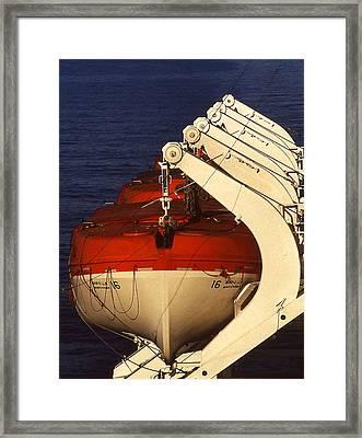 Lifeboats Framed Print