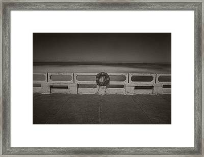 Framed Print featuring the photograph Lifebuoy by Amarildo Correa