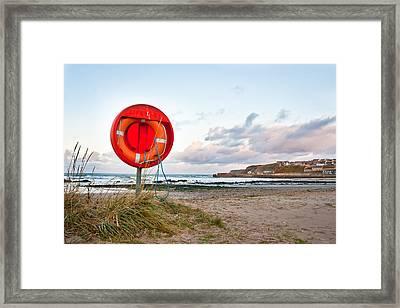 Lifebuoy Framed Print by Tom Gowanlock