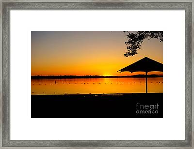 Lifeguard Off Duty Framed Print