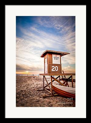 Sand Stand Framed Prints