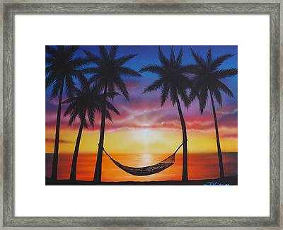 Life's A Beach Framed Print by Darren Robinson
