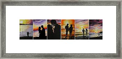 Life's A Beach Framed Print by Tamir Barkan