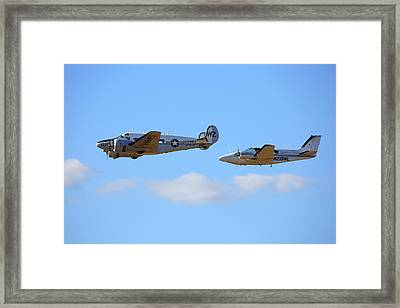 Life's A Pair Of Beeches Framed Print