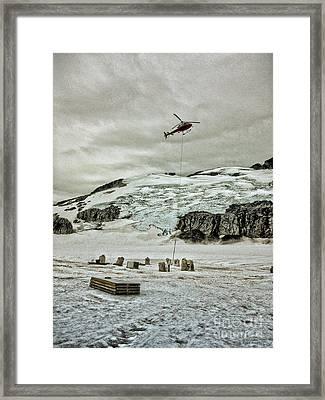 Lift Framed Print