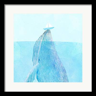 Whale Beach Framed Prints