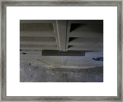 Lift Framed Print by Jaime Neo