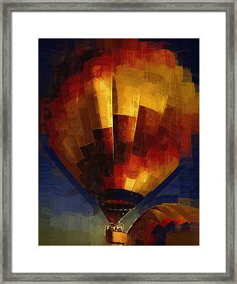 Framed Print featuring the digital art Lift by Kirt Tisdale