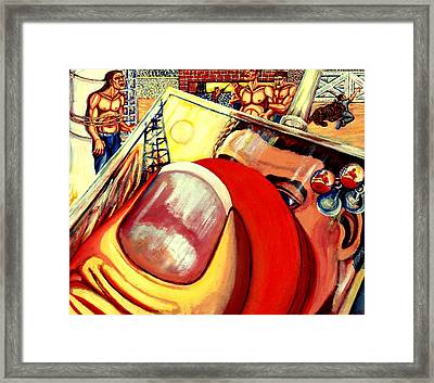 Lift Off Framed Print by Adam B Cook