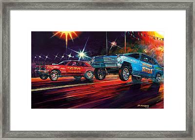 Lift Off Framed Print by Bruce Kaiser