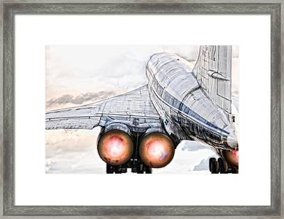 lift off Tu-144 Framed Print by Joachim G Pinkawa