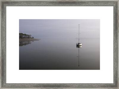 Framed Print featuring the photograph Lifting Fog by Gregg Southard