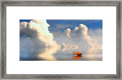 Lifting Fog Framed Print